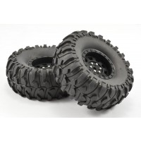 "Roues Fastrax BOXER 90mm 1.9"" 1/10 Crawler (2)"