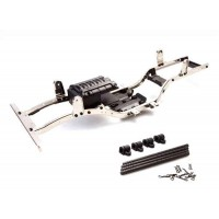 GMADE GS01 SAWBACK CHROME SILVER CHASSIS SET