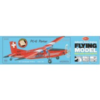 1/19e Guillow's Pilatus PC-6 Porter Kit 667mm