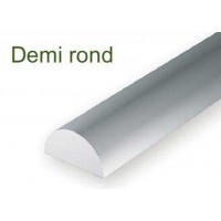 243-Evergreen 3 demi-ronds DIA.2,54x355mm