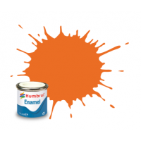 Peinture Humbrol Enamel 018 Orange brillant 14ml