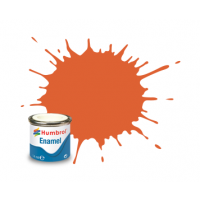 Peinture Humbrol Enamel 082 Orange de garniture mat 14ml