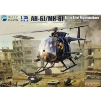 "1/35e Kitty Hawk AH-6J/MH-6J ""LITTLE BIRD NIGHTSTALKERS"""