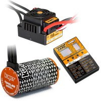 Combo KONECT M9 Brushless 1/8e 150Amp WP + Moteur 4P. 4274 2200KV + carte