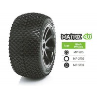 MEDIAL PRO MATRIX4.0 Hexa. 17mm TRAXXAS - (2) AV&AR