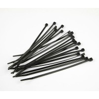 Colliers Nylon noirs taille L (20cm) 10 pièces - Muchmore