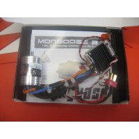 Combo Brusless moteur Mongoose+Esc Three-80 micro pro
