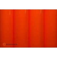 Oracover 0,6x2M couleurs fluorescentes orange