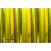 Oracover 0,6x2M couleurs chrome jaune