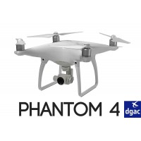 Homologation DGAC S1+S2+S3 DJI Phantom 4 - 4 PRO - 4 PRO PLUS