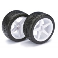 Roues Absima Arrière Gomme Piste Buggy 1/10