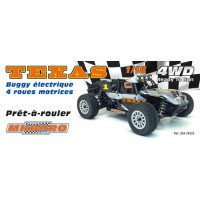MHDPRO TEXAS Buggy EP RTR 1/18
