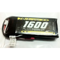Batterie LiPo réception 7.4V 1600mAh CX 20C HP