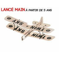 "Avion Lancé main Revell BalsaBirds ""Twin Sky"""