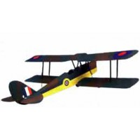 Biplan Tiger moth ARTF TH 1300mm