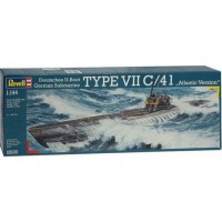 1/144e Revell U-Boot TYPE VII C/41 Atlantic Version