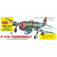 1/16e Guillow's Republic P-47D Thunderbolt Kit 768mm