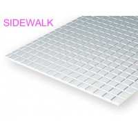 4514-Evergreen Plaque quadrillage trottoir 152x304x1x3,17mm