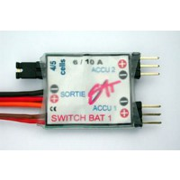 Alimentation double RX SWITCH BAT 1