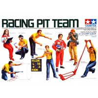 1/20e Tamiya Racing pit team (1980)