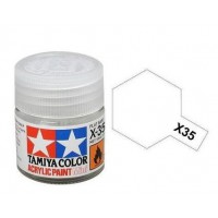 Pot Tamiya X-35 Vernis Transparent Acrylique satiné 10ml
