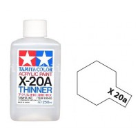 Pot Tamiya X-20A XL Diluant Acrylique 250ml