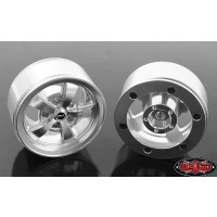 Jante RC4WD Mickey Thompson Street Comp SC-5 1.9'' Beadlock (Hyper Silver) 2 paires 1/10 Crawler