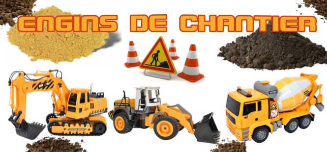 Engins de chantier!