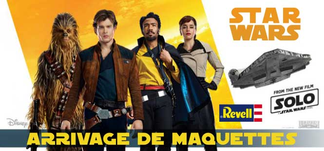 Maquettes Revell Star wars Solo